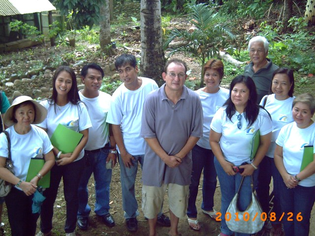 Farm visit by Rotary club Puerto princesa Central