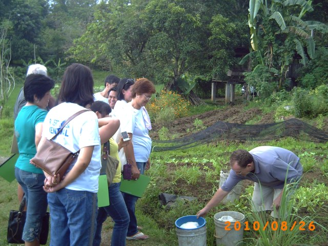 Teaching on soil conditors